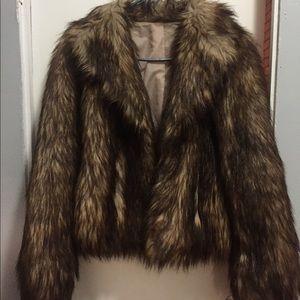 COPY - H&M fur coat